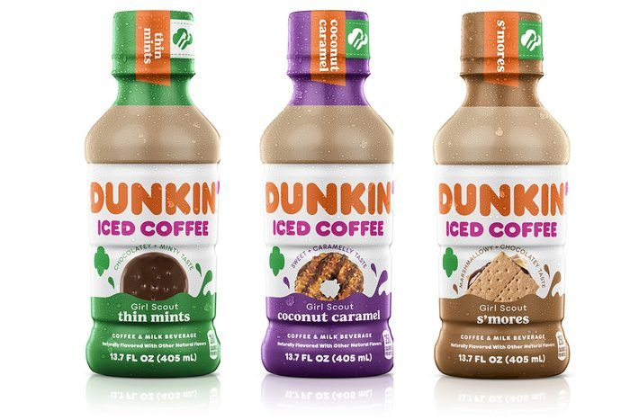 Dunkin Girl Scout Cookie Coffee