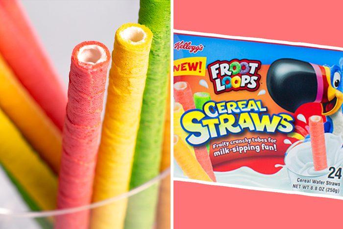 Froot Loops Cereal Straws return