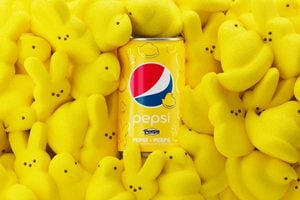 Pepsi and Peeps' Marshmallow Soda Is Here