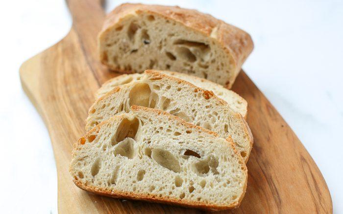 Sliced Ciabatta How to make ciabatta bread