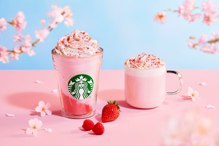Starbucks Japan's new cherry blossom collection
