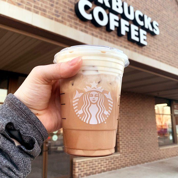 Starbucks Oatmeal Cookie Latte from the secret menu