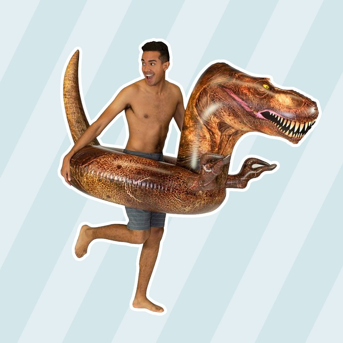 T Rex Dinosaur Pool Float