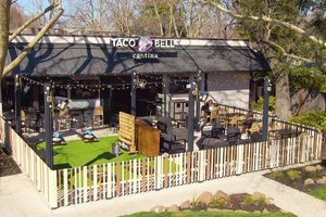 Taco Bell's Latest Restaurant Has a Fire Pit and Cornhole, Just in Time for Summer