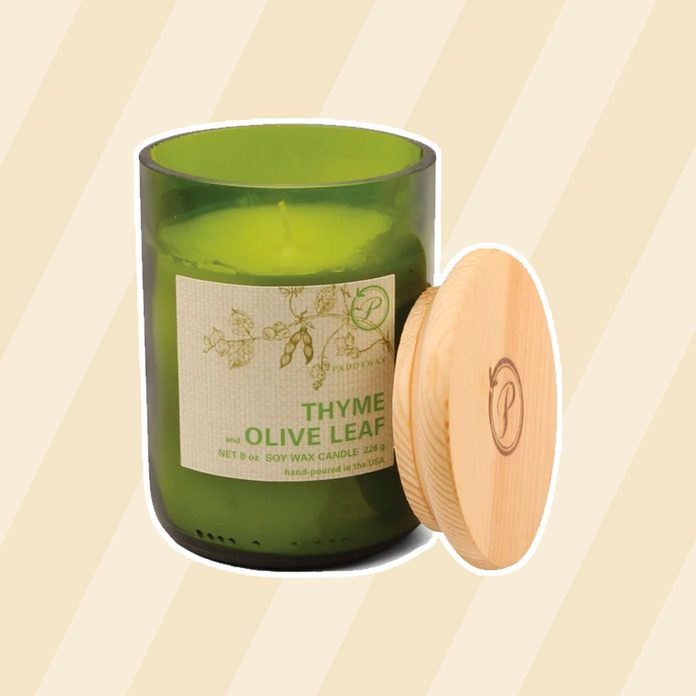 Thyme Olive Leaf Candle 1