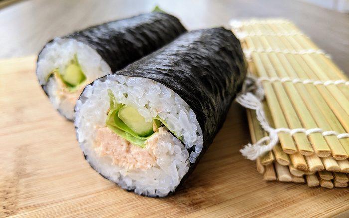 Canned tuna sushi recipe