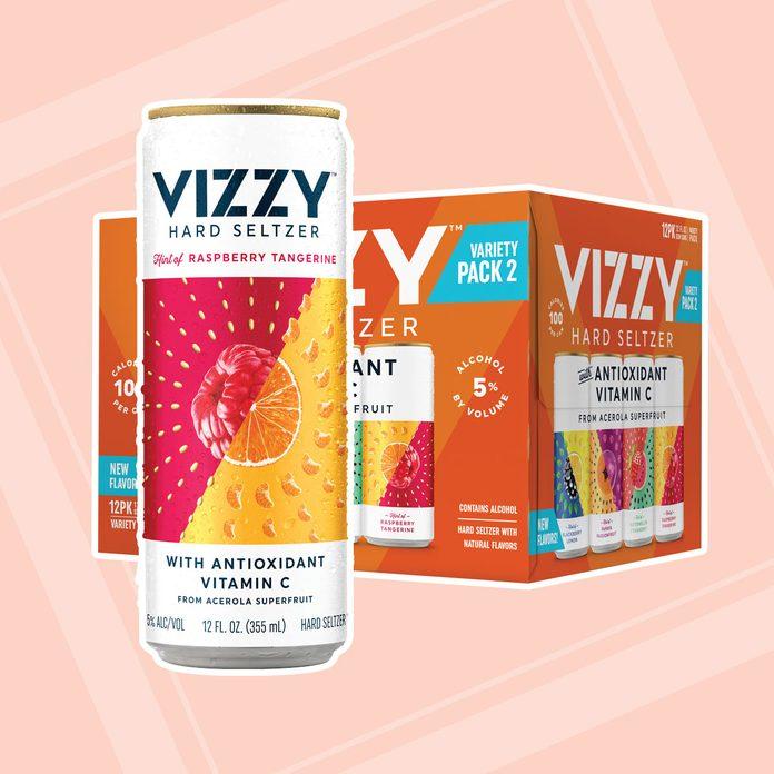 Vizzy Hard Seltzer canned alcoholic drinks