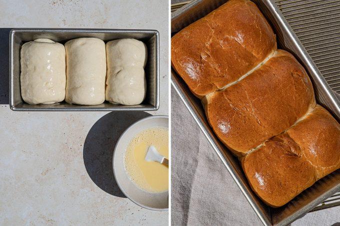 Baked Japanese Milk Bread recipe