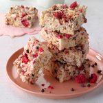 Chocolate-Raspberry Rice Krispies Treats