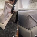 This Is How to Tuck in a Flat Sheet to Create Tight Corners