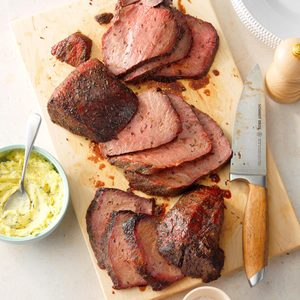 The Best Grilled Sirloin Tip Roast