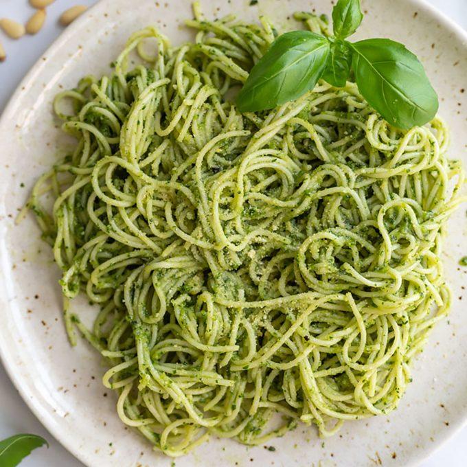 Vegan Pesto Pasta Sauce 1200x1200