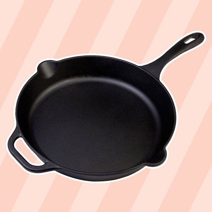 best cast iron skillet Victoria Skillet Seasoned Flaxseed
