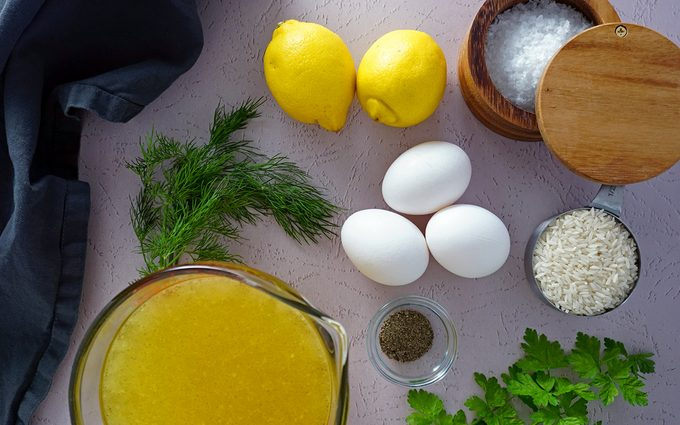 Prepare the avgolemono avgolemono soup recipe