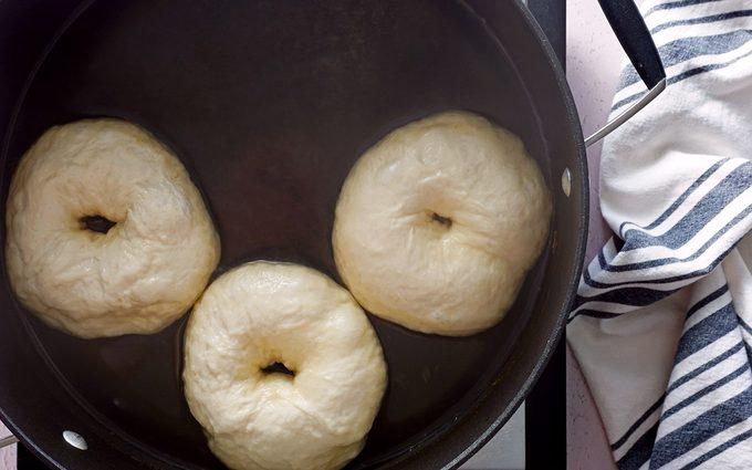 Cinnamon Crunch Bagels Panera Water bath