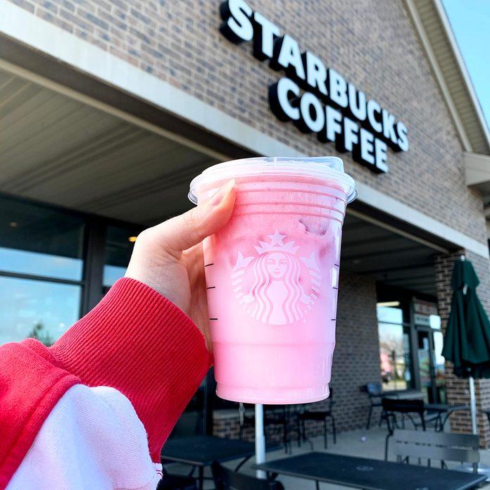 Starbucks Pink A Colada