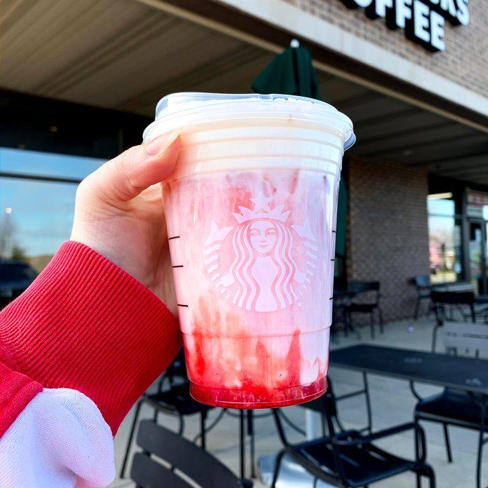 Starbucks Strawberry Cobbler Refresher
