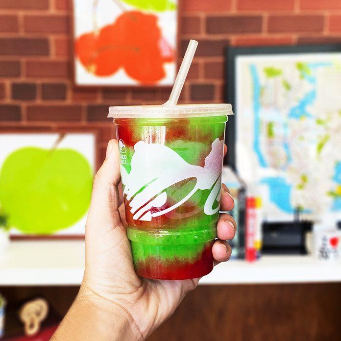 Taco Bell Green Apple Freeze