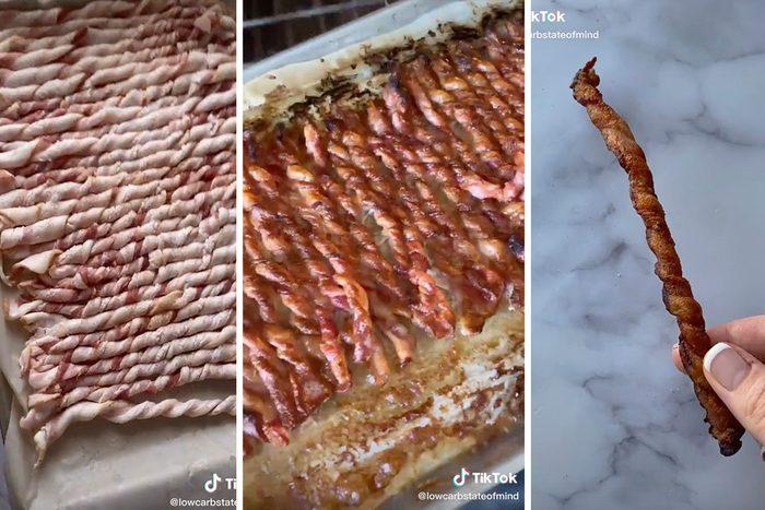 Tiktok Twisted Bacon