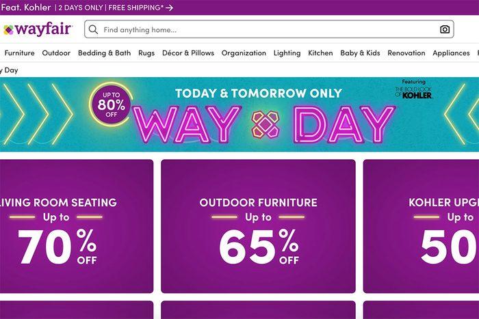 Wayfair Way Day Sale