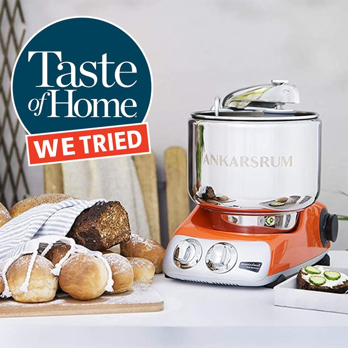 We Tried Ankarsrum Stand Mixer Feature