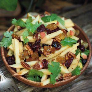 Apple Matchstick Salad