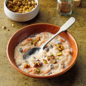 Indian Rice and Carrot Pudding