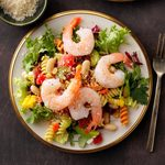 Minestrone-Style Shrimp Salad