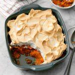 Sweet Potato Meringue Bake