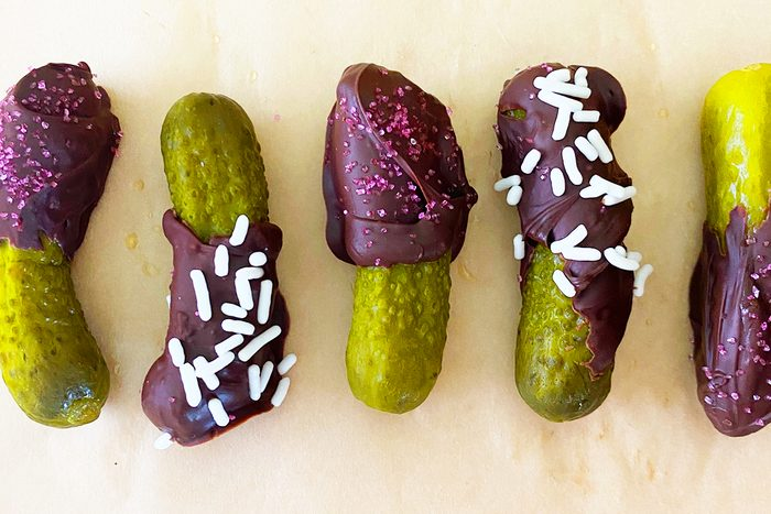 Chocolate Covered Pickles