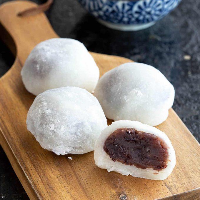 Daifuku Mochi Recipe japanese desserts