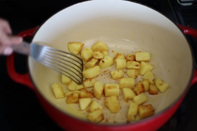 Dutch Oven Potatoes How to make biryani