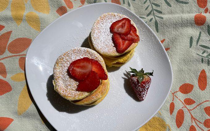 Fluffy Japanese Pancakes Hero