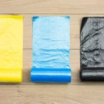 How to Create a Makeshift Garment Bag with a Box of Kitchen Trash Bags