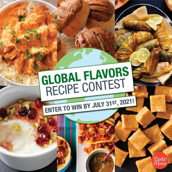 Global Flavors Recipe Contest 1200x1200