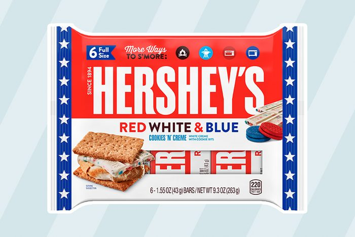 Hershey's Red White and Blue Candy Bar