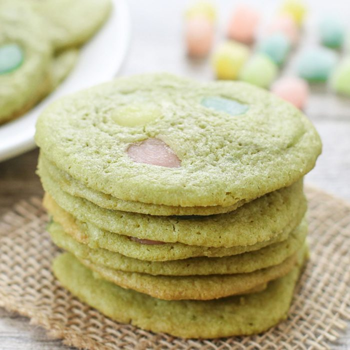 Matcha Green Tea Mochi Cookies japanese desserts