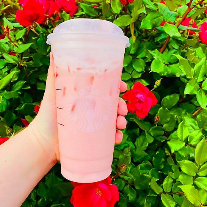 Starbucks Strawberries And Cream Refresher