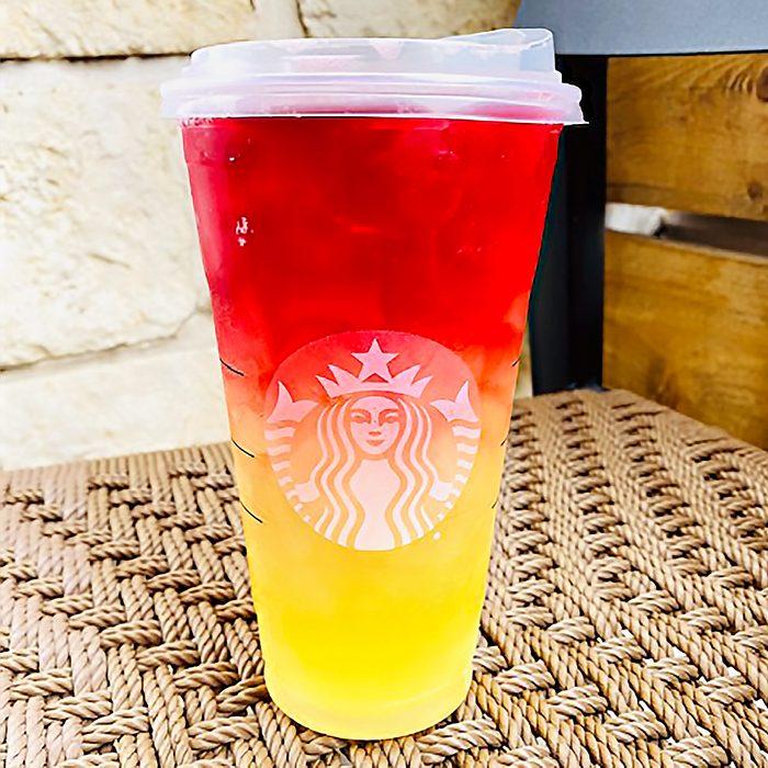 Starbucks Caribbean Refresher from the Secret Menu