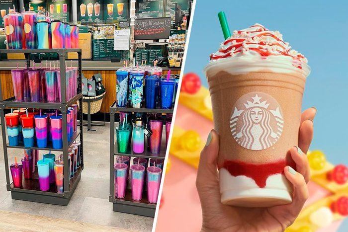 Starbucks Summer 2021 Items