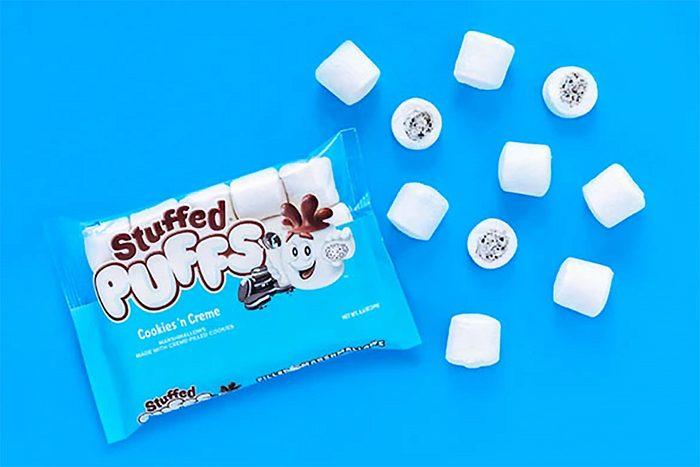 Stuffed Puffs Cookies N Creme