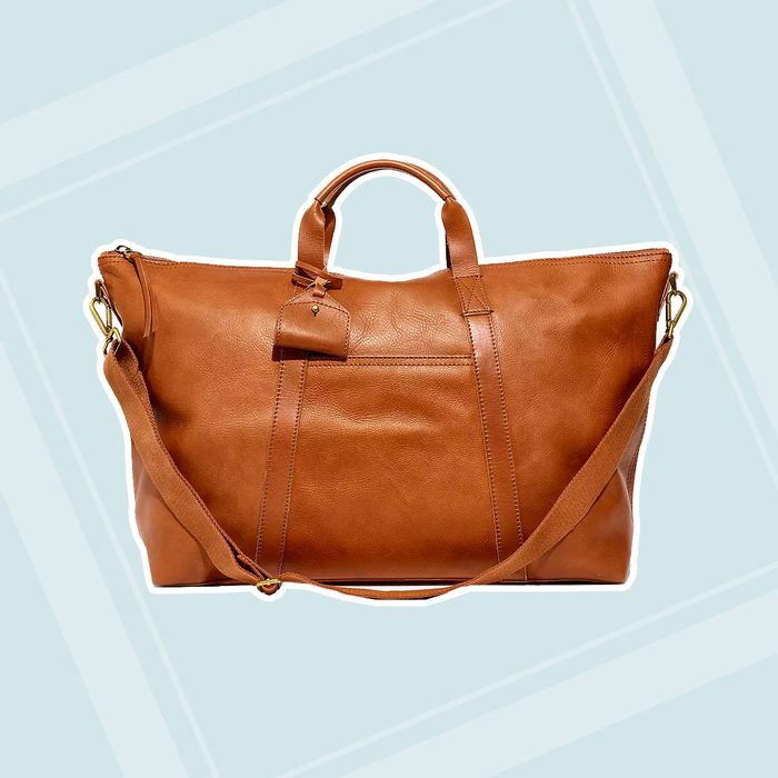 college graduation gifts The Essential Overnight Bag In Leather 1