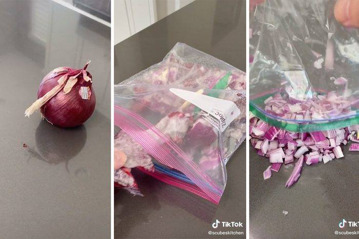 Best Way to Dice an Onion TikTok Hack