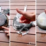 This Trick Shows You How to Clean the Outside Bottom of a Pan