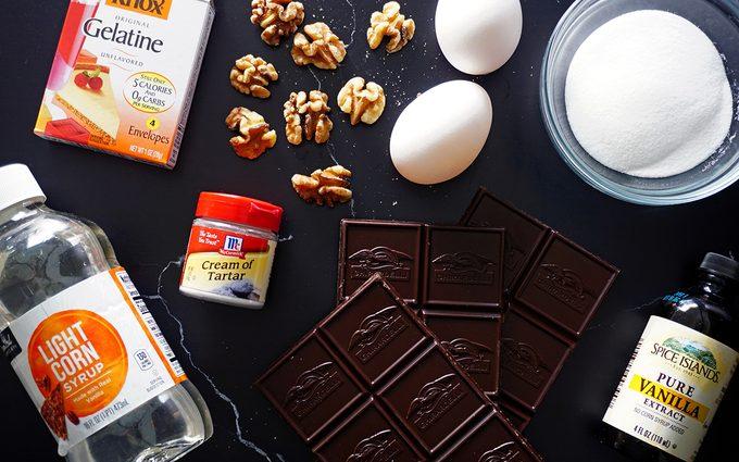 ingredients for walnut whirls