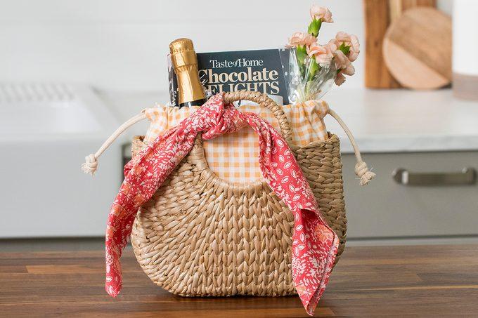 A little something gift basket