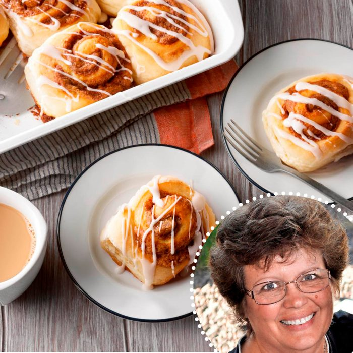 Cinnamon Rolls With Cookie Butter Filling Kallee Krong Mccreery ready set bake contest