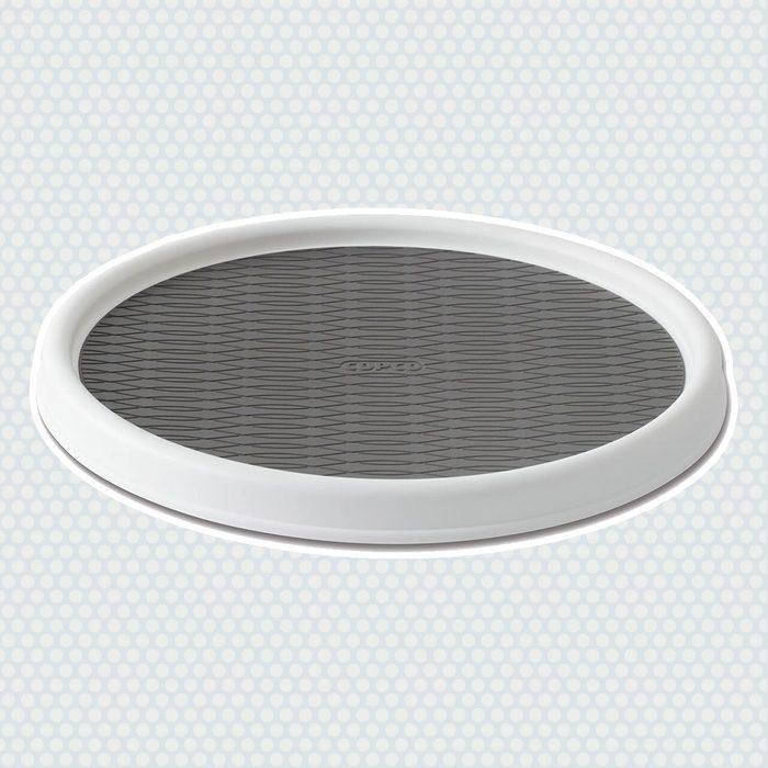amazon kitchen storage Copco 2555 0190 Non Skid Cabinet Turntable