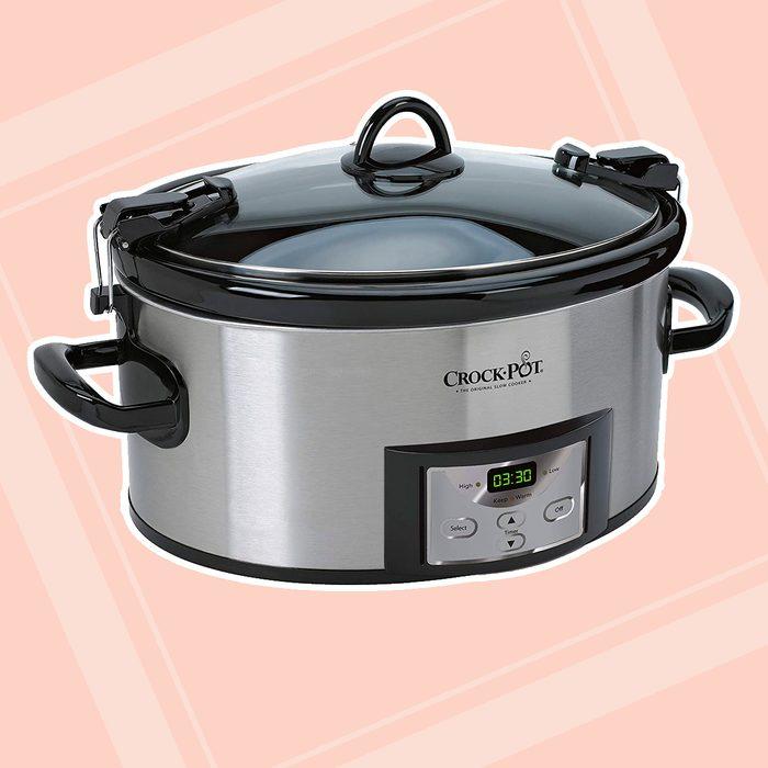 kitchen items for wedding registry Crock Pot 6 Quart Programmable Stainless
