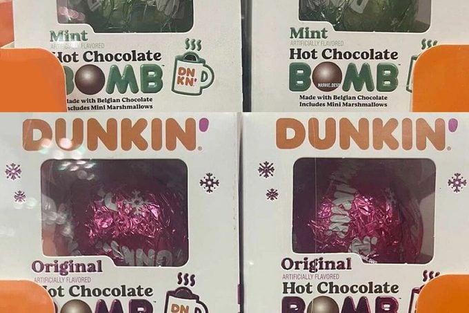 Dunkin'hot Cocoa Bombs Feature